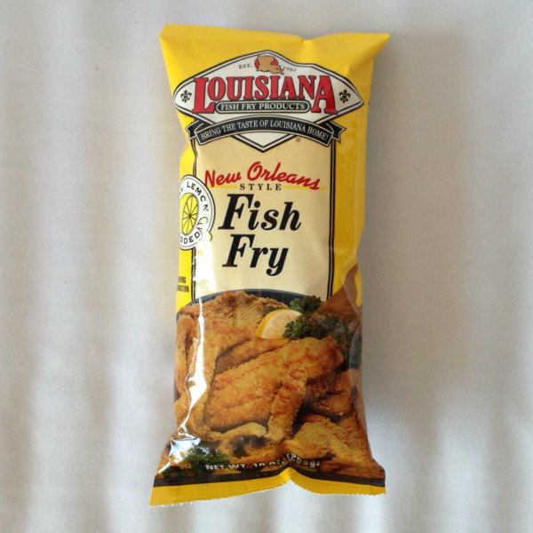 La fish fry 39 s new orleans fish fry with lemon cajun gift for New orleans fish