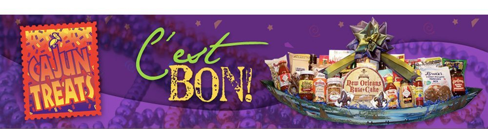Logo Cajun gift baskets | New Orleans gift baskets | Louisiana gift baskets