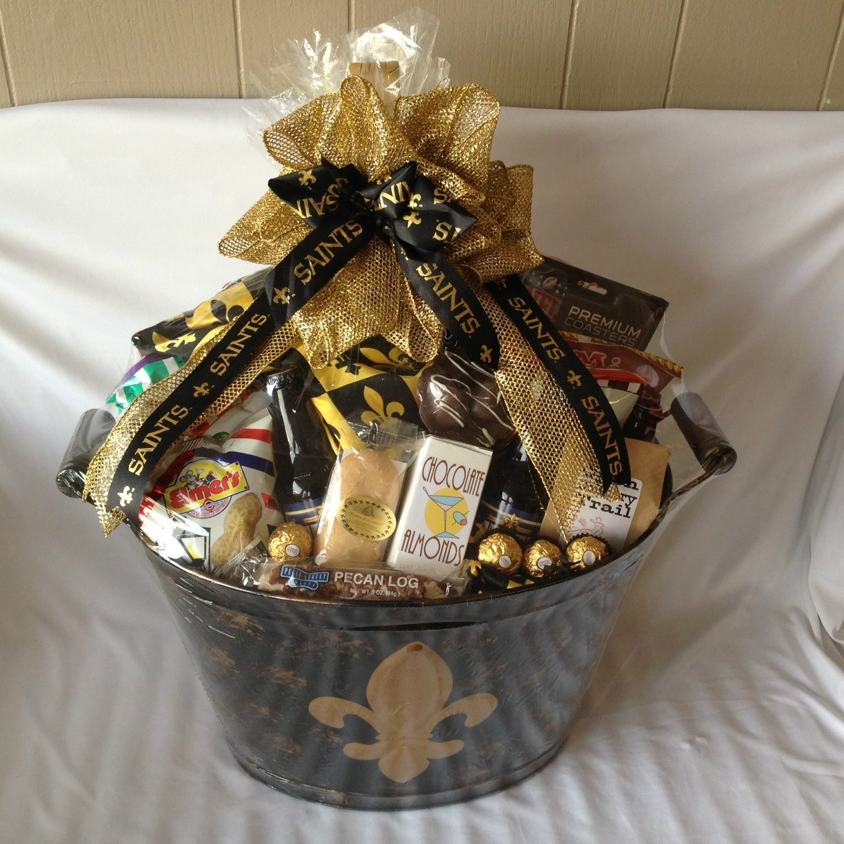 New Orleans Saints Gift Basket – Gift Ftempo